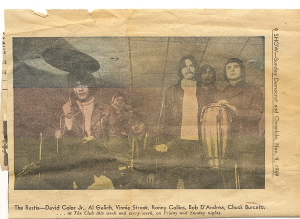 The Rustix pictured in a 1969 edition of the Democrat & Chronicle. - PROVIDED PHOTO