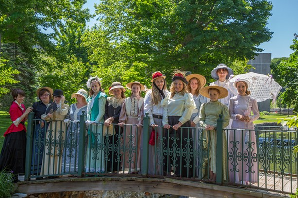 The Clifton Springs Sulphur Springs Festival celebrates the village's Victorian origins. - PHOTO PROVIDED