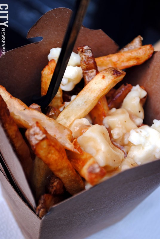 Classic poutine from Le Petite Poutine food truck. - FILE PHOTO