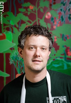 "Lento's Art Rogers: Farm-to-table is ""how I wanted to cook."" - PHOTO BY MARK CHAMBERLIN"