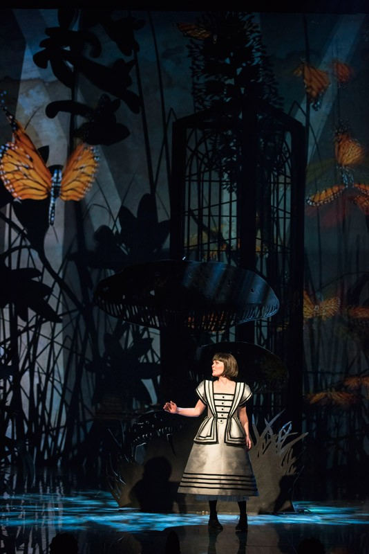 """Tara Rosling as Alice Liddell in """"Alice in Wonderland."""" The musical will be produced by the Shaw Festival this summer. - PHOTO BY EMILY COOPER"""