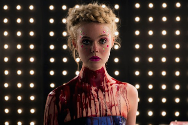 "Elle Fanning is a beautiful mess in ""The Neon Demon."" - PHOTO COURTESY BROAD GREEN PICTURES."
