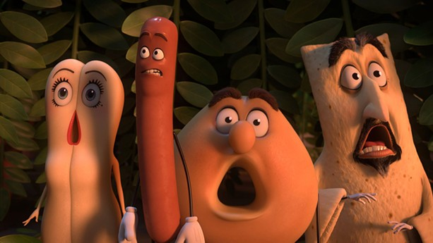 "Get your mind out of the gutter, they're just groceries. ""Sausage Party."" - PHOTO PROVIDED BY SONY PICTURES"