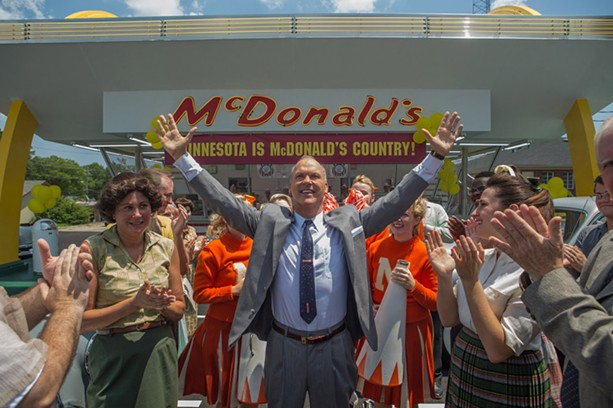 "Michael Keaton as McDonald's founder Ray Kroc in ""The Founder."" - PHOTO PROVIDED BY THE WEINSTEIN COMPANY"