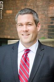County Clerk Adam Bello: A Democrat in a high-profile county position. - FILE PHOTO