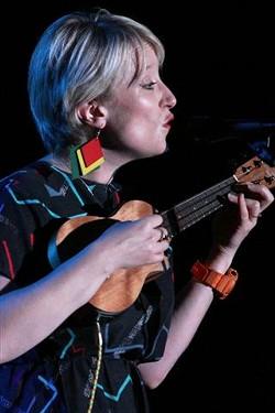Gwyneth Herbert performed in Christ Church on Monday. - PHOTO BY FRANK DE BLASE