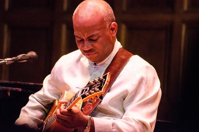 Guitarist Russell Malone. - PHOTO BY MARK CHAMBERLIN