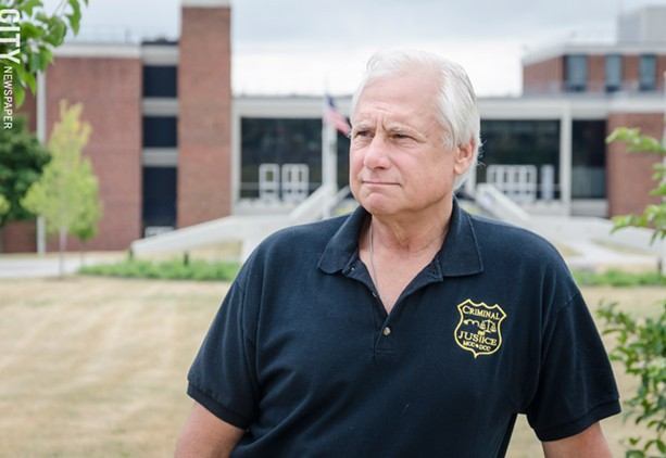 Joe Sturnick, a retired Rochester Police Department captain, now teaches at Monroe Community College. - PHOTO BY MARK CHAMBERLIN