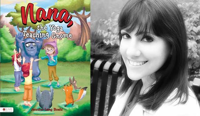 "Jennifer Lang Boehl: ""Nana, the Yoga Teaching Gnome"" - PHOTOS PROVIDED"