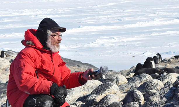 A scientist, musician, and professor, Glenn McClure recently traveled to Antarctica as part of the National Science Foundation's Artists and Writers Fellowship. - PROVIDED PHOTOS