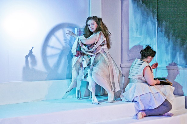 """Virginia Monte directed the Rochester Community Players' production of """"The Winter's Tale"""" in 2014. - PHOTO BY ANNETTE DRAGON"""