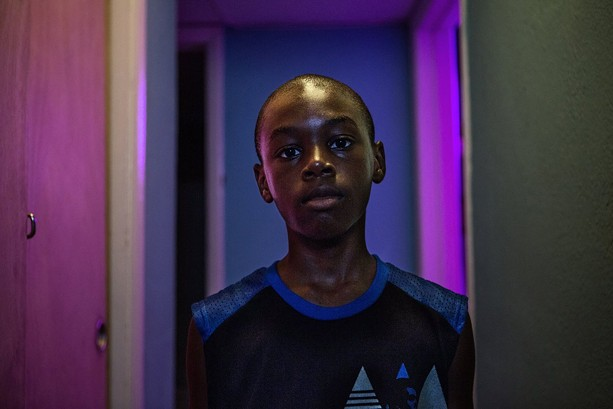 "Alex Hibbert in ""Moonlight."" - PHOTO COURTESY A24 FILMS"