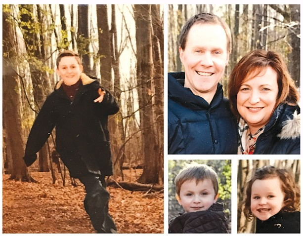 "Scott Hetsko's health challenge affects not only him but also his wife Jennifer and their three young children: 11-year-old Logan, left, and 4-year-old twins Julia and Jack. ""I don't know if I'm going to live to see my grandkids,"" says Hetsko. ""But I know I have my family now, so that's what I'm going to live in."" photos - PROVIDED BY SCOTT HETSKO"