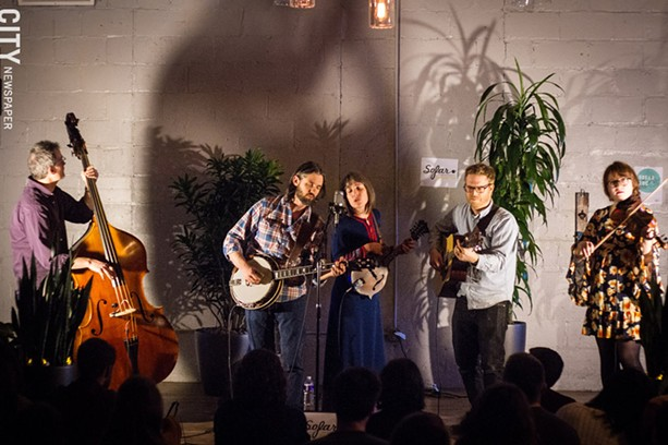 Americana band Crooked North performs during a Sofar Sounds concert. - PHOTO BY KEVIN FULLER