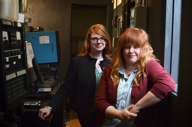 Linda Moroney (left) and Bri Merkel (right) are the organizers of the 2017 One Take Film Festival. - PHOTO BY MATT DETURCK