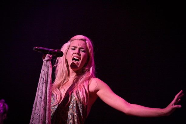 Joss Stone headlined the first night of the 2017 XRIJF at Kodak Hall at Eastman Theatre. - PHOTO BY FRANK DE BLASE
