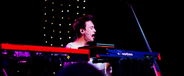 Jacob Collier played Anthology Friday as part of the first night of XRIJF 2017. - PHOTO BY KEVIN FULLER