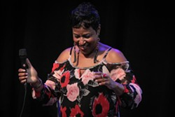 Vanessa Rubin performed at Max of Eastman Place on Tuesday night. - PHOTO BY FRANK DE BLASE