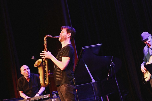 Donny McCaslin played Xerox Auditorium on Saturday night at the XRIJF. - PHOTO BY KEVIN FULLER