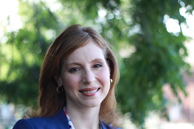 Democratic challenger Rachel Barnhart - PHOTO BY KEVIN FULLER