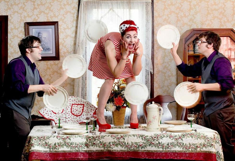 Bad Idea Entertainment. - PHOTO COURTESY KEYBANK ROCHESTER FRINGE FESTIVAL