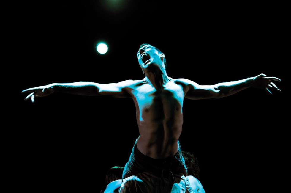 """PUSH Physical Theatre will open """"Dracula"""" at Blackfriars Theatre on Halloween. - PHOTO BY ANGELA JOHNSON"""