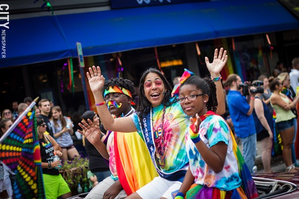 Marchers were having fun at this summer's ROC Pride Parade. - FILE PHOTO