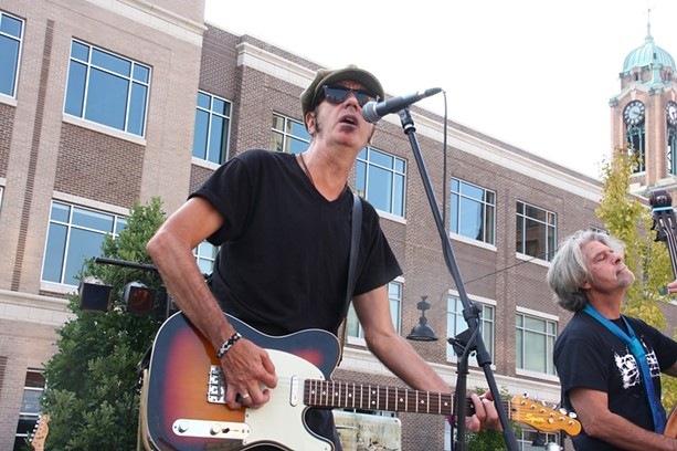 The Brian Lindsay Band played Saturday on the Fringe at Parcel 5. - PHOTO BY FRANK DE BLASE