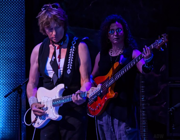 Jeff Beck at CMAC - PHOTO BY AARON WINTERS