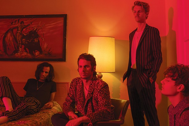 Foster the People will play with The Demos on Friday. - PHOTO BY NEIL KRUG