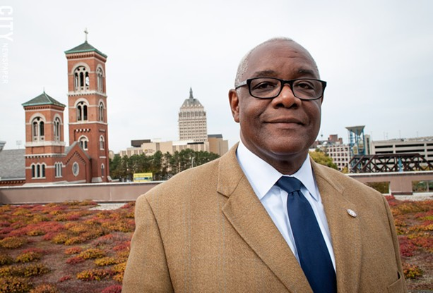 Environmental-services commissioner Norman Jones: The city is connecting the dots between developments. - PHOTO BY RYAN WILLIAMSON