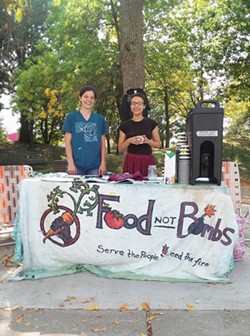 Members of Rochester Food Not Bombs. - PROVIDED PHOTO