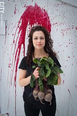 Andrea Parros - PHOTO BY RYAN WILLIAMSON