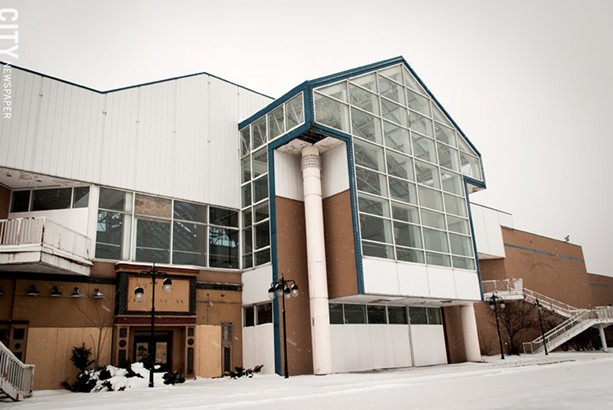 Medley Centre closed to the public in 2009. - PHOTO BY RYAN WILLIAMSON