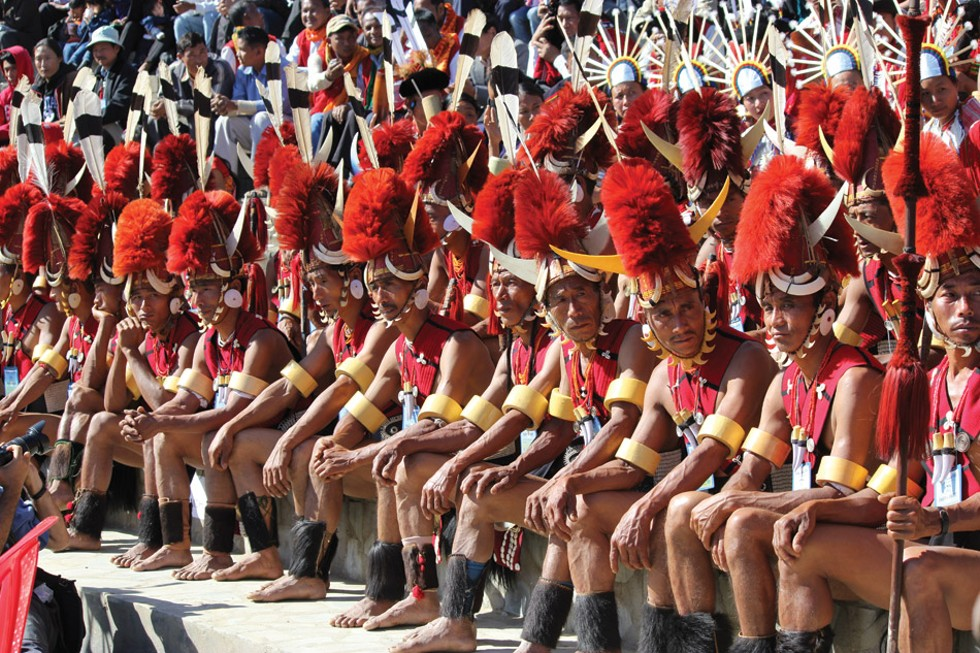Performers at Hornbill Festival in Kisema, Nagaland - PROVIDED PHOTO