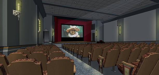 A rendering of projected Little Theatre 1 renovations via Bero Architecture PLLC. - PHOTO PROVIDED