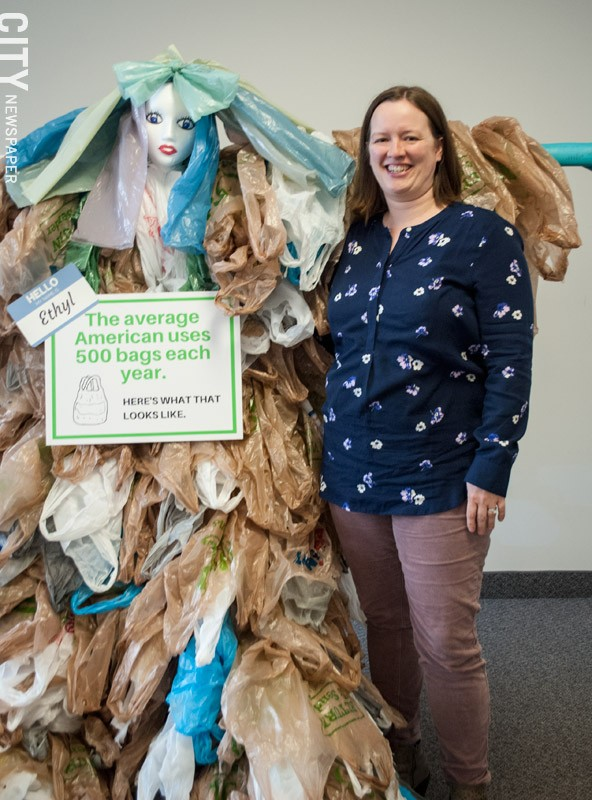 Luann Meyers, Monroe County's solid waste coordinator. - PHOTO BY JACOB WALSH