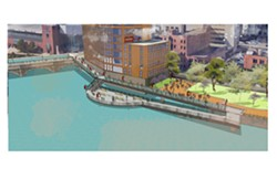 ROC the Riverway is designed to capitalize on the natural attraction of the Genesee River. - FILE IMAGE