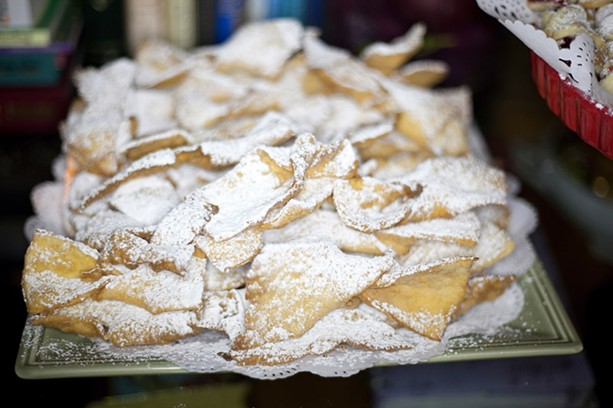 Among the dishes at the Polish Arts Festival is the sweet, flaky dessert dish Chrusciki. - PHOTO PROVIDED