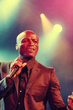 Seal headlined the first night of the 2018 Xerox Rochester International Jazz Festival. - PHOTO BY FRANK DE BLASE