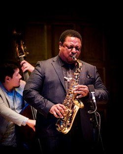 Vincent Herring performed with his quartet at Kilbourn Hall on Thursday. - PHOTO BY JOSH SAUNDERS