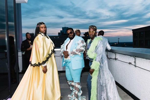A scene from Black Queer Prom, which is another event produced by Rochester Black Pride organizers. - PHOTOGRAPH BY MICHELE ASHLEY