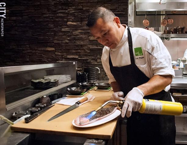 Chef Loi Pham. - PHOTO BY JACOB WALSH