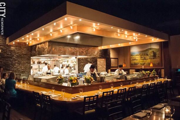 Omakase at Next Door Bar & Grill is offered only on Thursday nights. - PHOTO BY JACOB WALSH