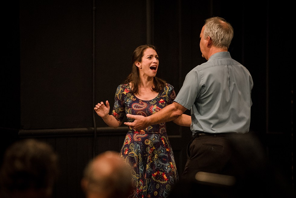 """""""Home is a Four Letter Word"""" was performed at MuCCC on Tuesday night. - PHOTO BY JOSH SAUNDERS"""