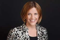 Hillary Olson, an Ogden native, will start as the Rochester Museum and Science Center's new director in November. - PHOTO PROVIDED