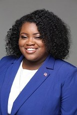 Brittaney Wells, the new chair of the Monroe County Democratic Committee. - PHOTO PROVIDED