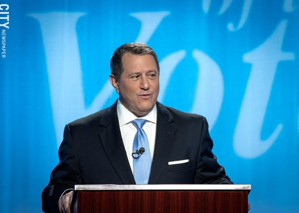 Democrat Joe Morelle - PHOTO BY RYAN WILLIAMSON