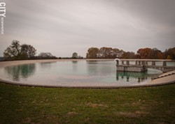 The reservoir in Highland Park contains part of Rochester's public water supply. - PHOTO BY RYAN WILLIAMSON