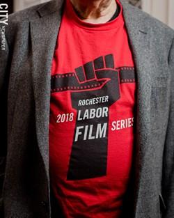 Jon Garlock: Documenting the contributions of workers. - PHOTO BY JOSH SAUNDERS